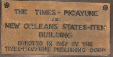 TP Building Plaque