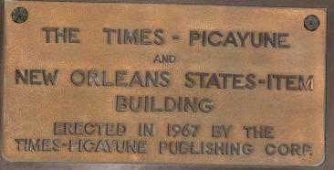 TP Building Plaque